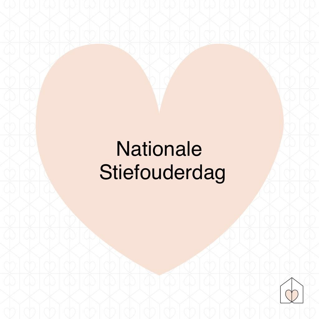 nationale stiefouderdag