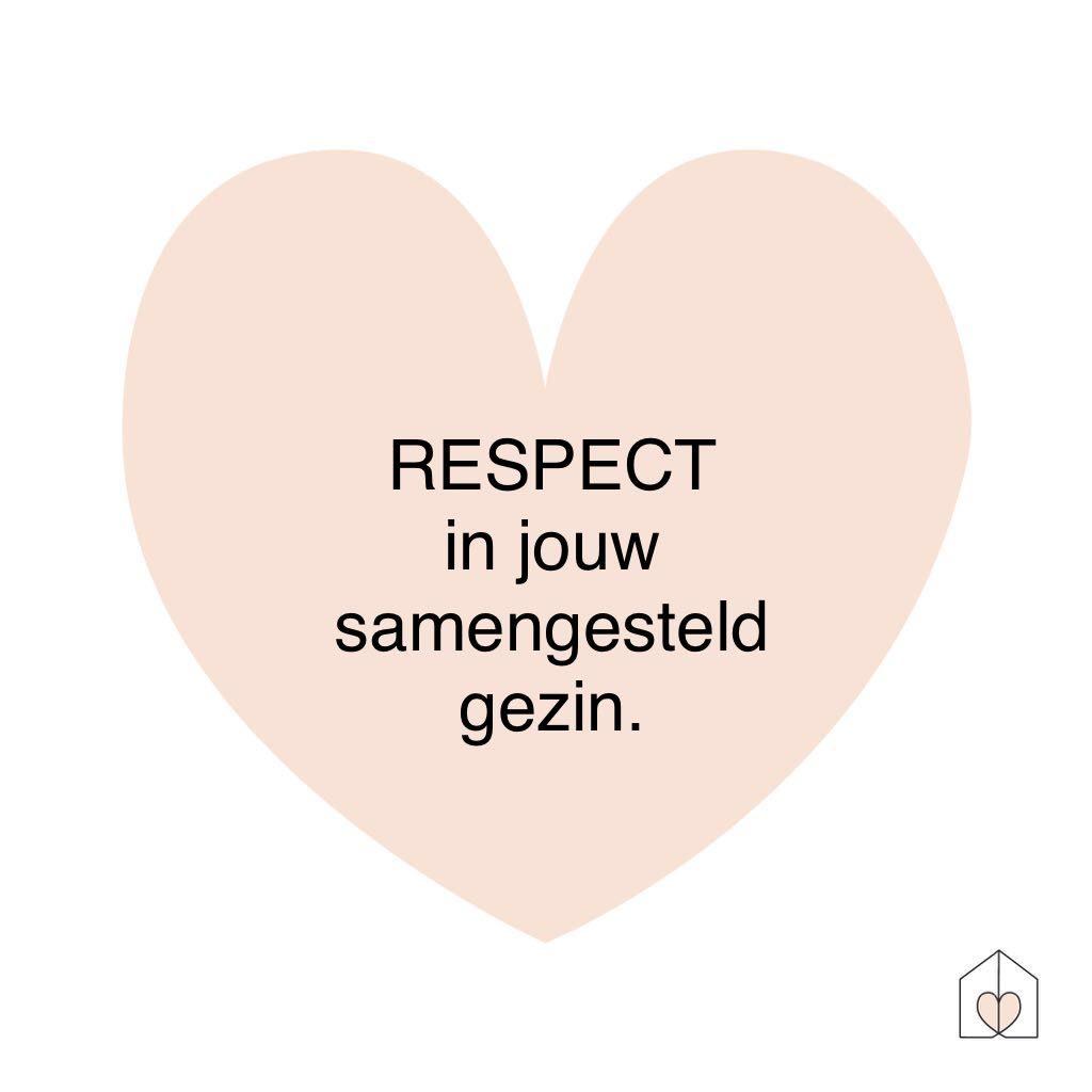 Respect in jouw samengesteld gezin